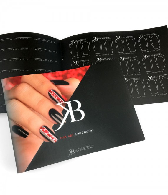 Nail Art Paint Book