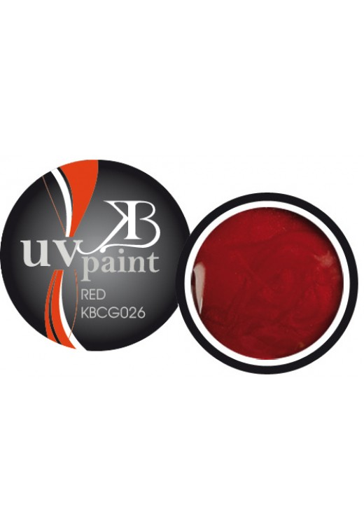 UV Paint Red