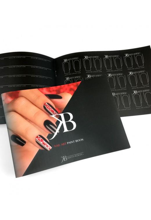 Nail Art Paint Book