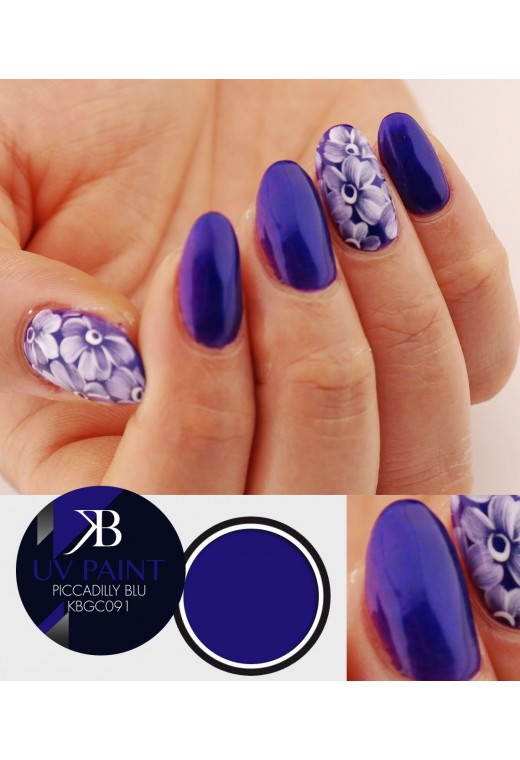 UV Paint Piccadilly Blu