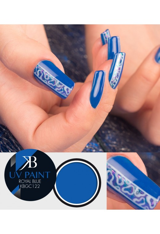 UV Paint Royal Blue *In esaurimento