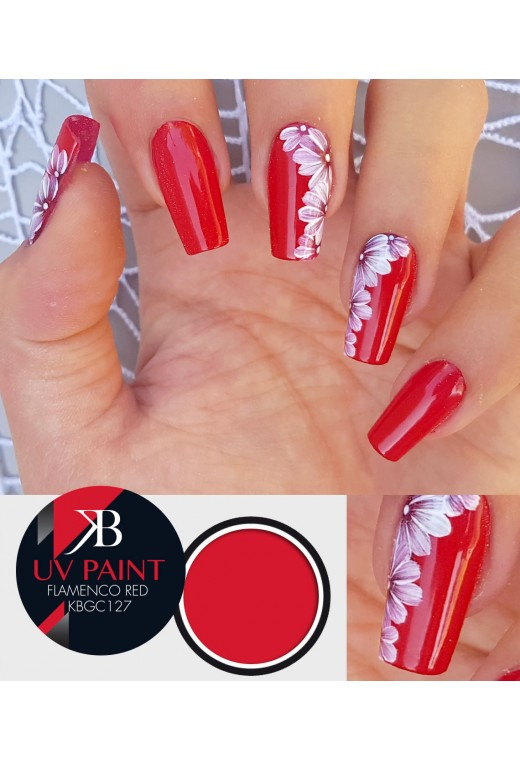 UV Paint Flamenco Red
