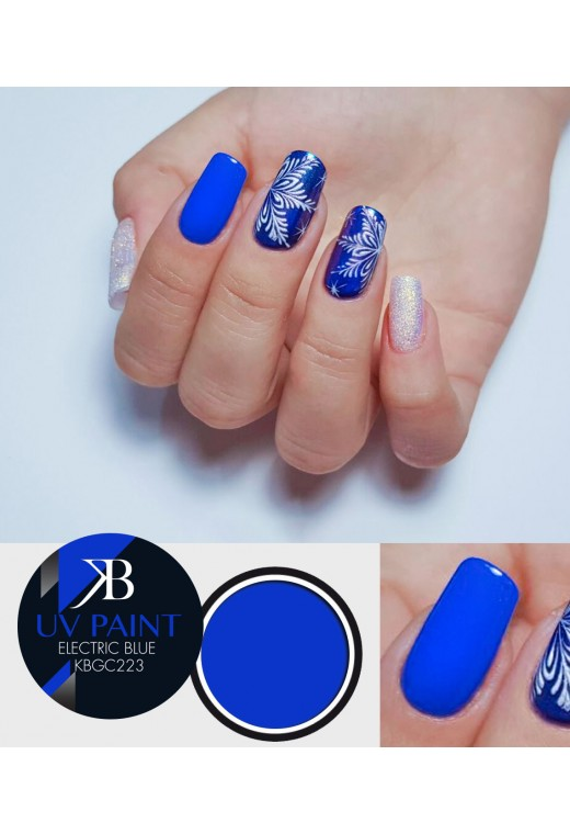 UV Paint Electric Blue
