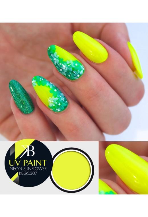 UV Paint Neon Sunflower
