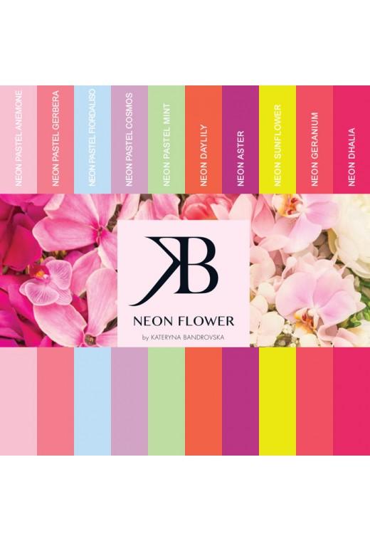 Kit Neon Flower (10 UV Paint)