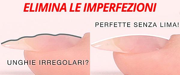 Kombi zero striature, stesure perfette